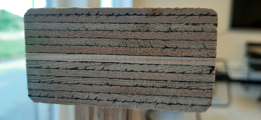 ENGINEERED WOOD = LICHT, STERK EN STABIEL
